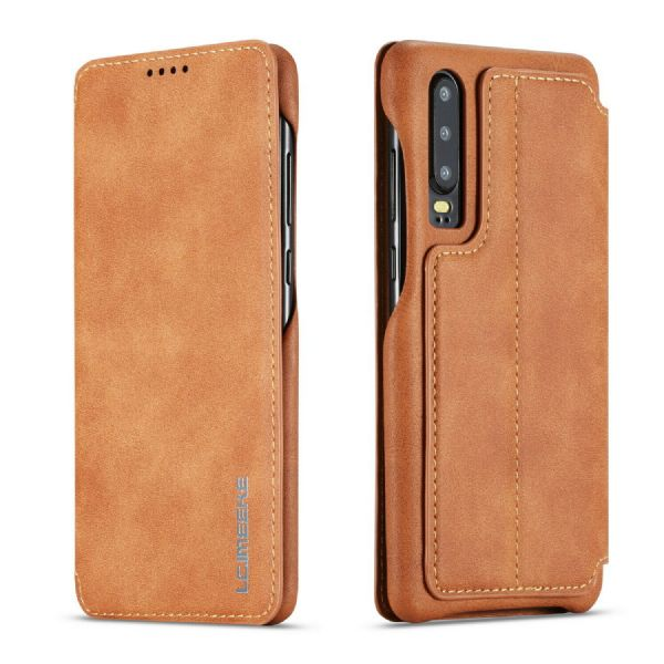 Huawei Lux Leather Flip Case Cover